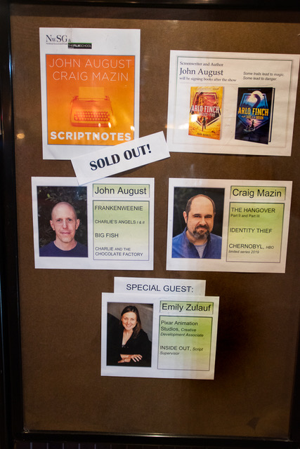 Episode 387 of Scriptnotes was recorded Feb. 6, 2019 in Seattle.